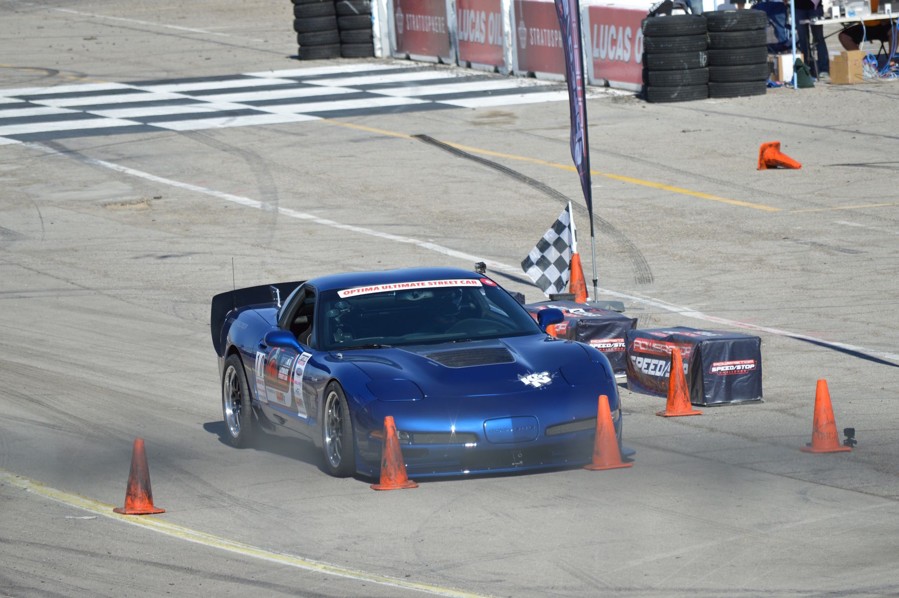 1998 Chevrolet Corvette Z06 | Danny Popp Wins Third Consecutive Optima Ultimate Street Car Invitational Championship on Forgeline GA3R Wheels