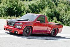 """Colorado Speed"" Drift Truck on Forgeline ZX3P Wheels"