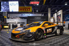 K-PAX Racing and Flying Lizard Motorsports McLaren 650S GT3 - Pirelli Booth SEMA 2016
