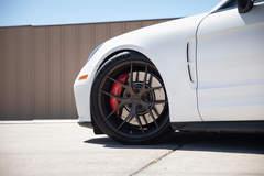 Tony Palo's T1 Race Development Porsche Panamera on Forgeline One Piece Forged Monoblock VX1 Wheels