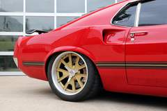 Jeff's Roadster Shop-Built '69 Ford Mustang on Center-Locking Forgeline Grudge Wheels