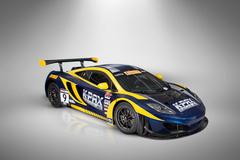 McLaren 12C GT3 in K-Pax Livery