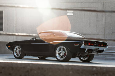 1971 Dodge Challenger | 1971 Dodge Challenger - ADV.1 ADV05 Track Spec CS Series Polished Wheels