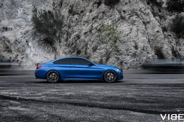 2014 BMW 4 Series   2014 BMW 435i on Vorsteiner - Side Photography Shot