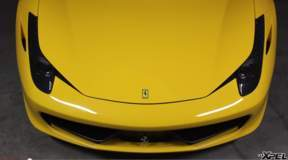 2011 Ferrari 458 Italia with XPEL ULTIMATE clear bra