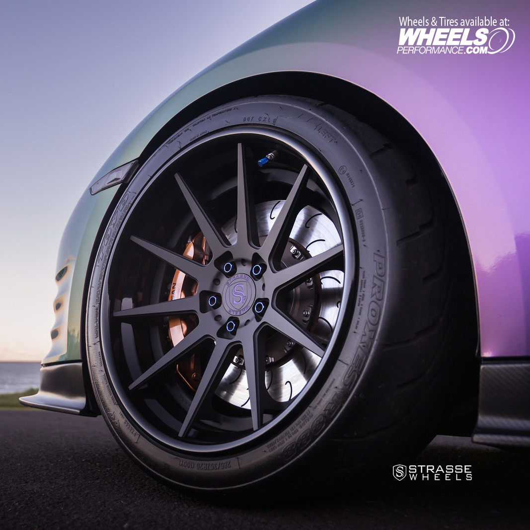 Nissan GT-R | Strasse Forged R10-FS Deep Concave