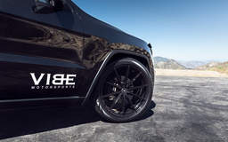 "Jeep Grand Cherokee on 22"" Vorsteiner V-FF 109 Gloss Black Wheels - Aftermarket"