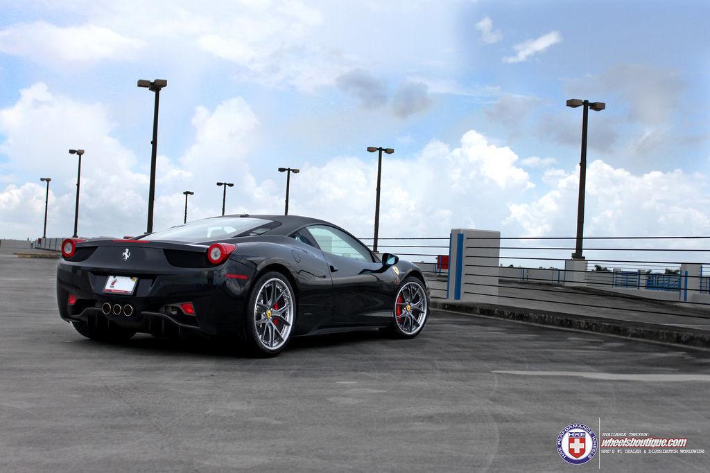 Ferrari 458 Italia   Ferrari 458 on HRE S101