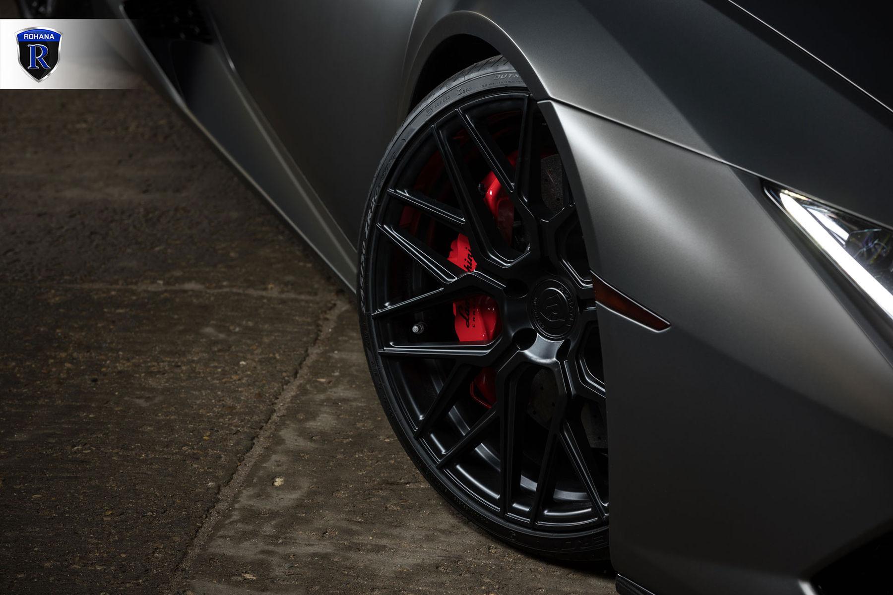 2016 Lamborghini Huracan   Matte Huracan - Black Spokes