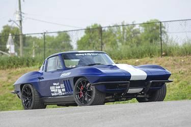 1964 Chevrolet Corvette | Joe Gregory's '64 Corvette on Forgeline One Piece Forged Monoblock GS1R Wheels