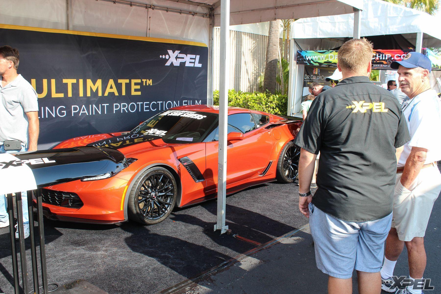 Chevrolet Corvette Z06 | XPEL Booth at Barrett Jackson West Palm Beach 2015