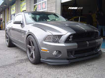 Ford Shelby GT500 Mustang on Forgeline CF3C Concave Wheels