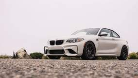 Dinan Engineering's BMW F87 S1 M2 on Forgeline One Piece Forged Monoblock GA1R Wheels - Low Shot