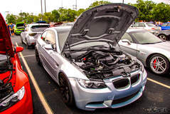 Another great shot of a BMW at Cars and Coffee San Antonio