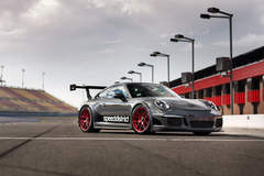 Josh Shokri's Speed District 991 Porsche GT3 on Forgeline One Piece Forged Monoblock VX1R Wheels