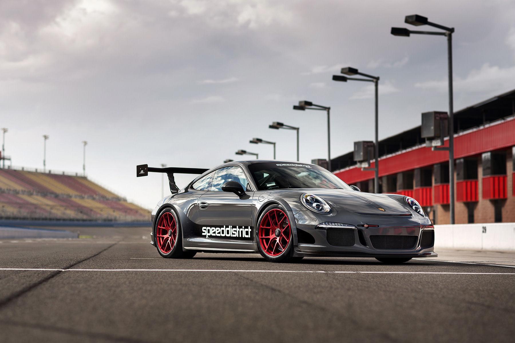 2015 Porsche 911 | Josh Shokri's Speed District 991 Porsche GT3 on Forgeline One Piece Forged Monoblock VX1R Wheels