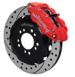 Wilwood 6 piston brakes