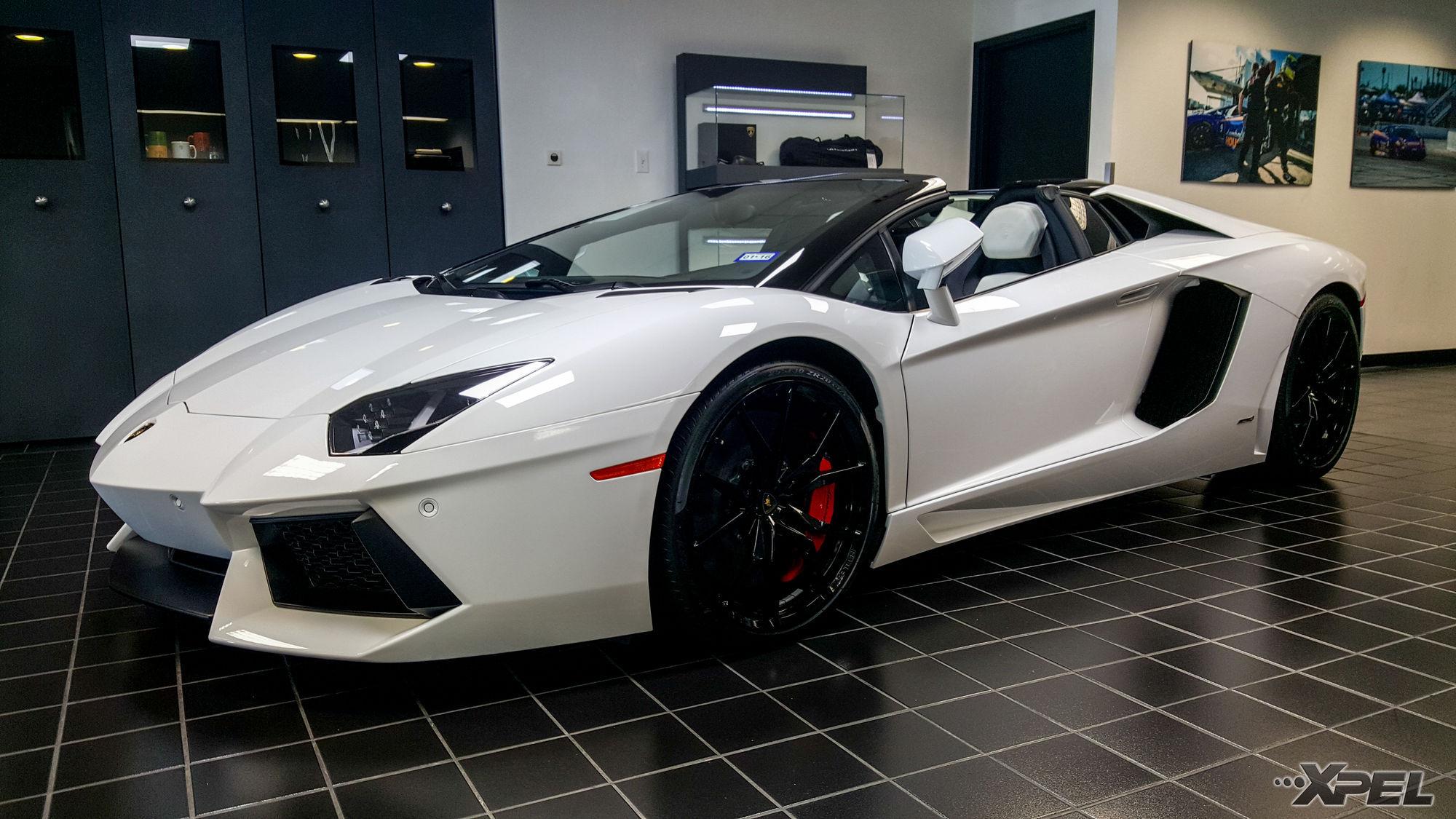 Lamborghini Aventador | XPEL ULTIMATE Clear Bra Installation