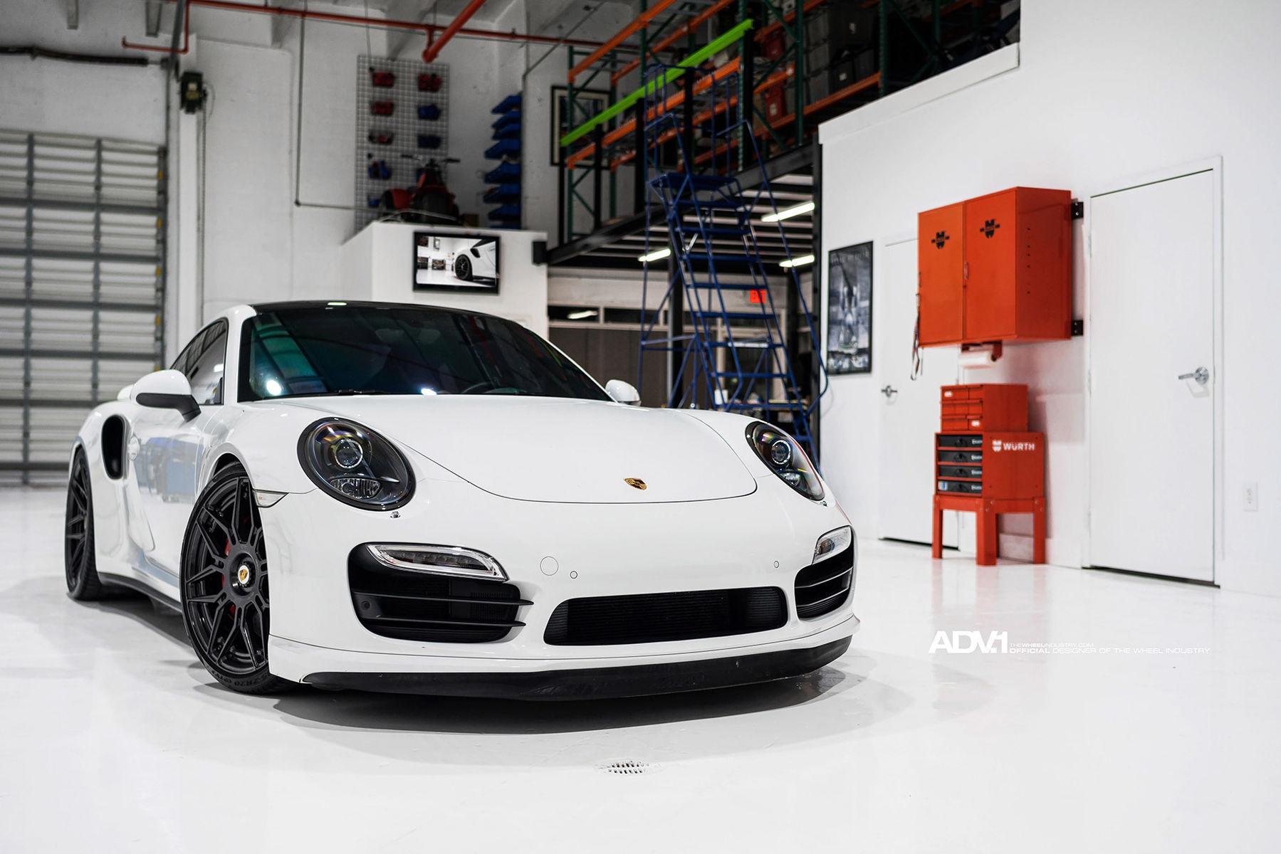2016 Porsche 911 | ADV.1 Wheel Porsche 991 Turbo S
