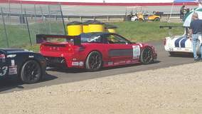 Kip Olson Racing at the 2016 SCCA Runoffs in the Driving Ambition Motorsport Acura NSX on Forgeline One Piece Forged Monoblock GS1R Wheels