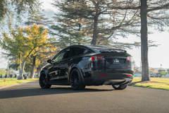 """Tesla Model X P100D on 22"""" Avant Garde M615 Wheels - Equipped in Burbank"""