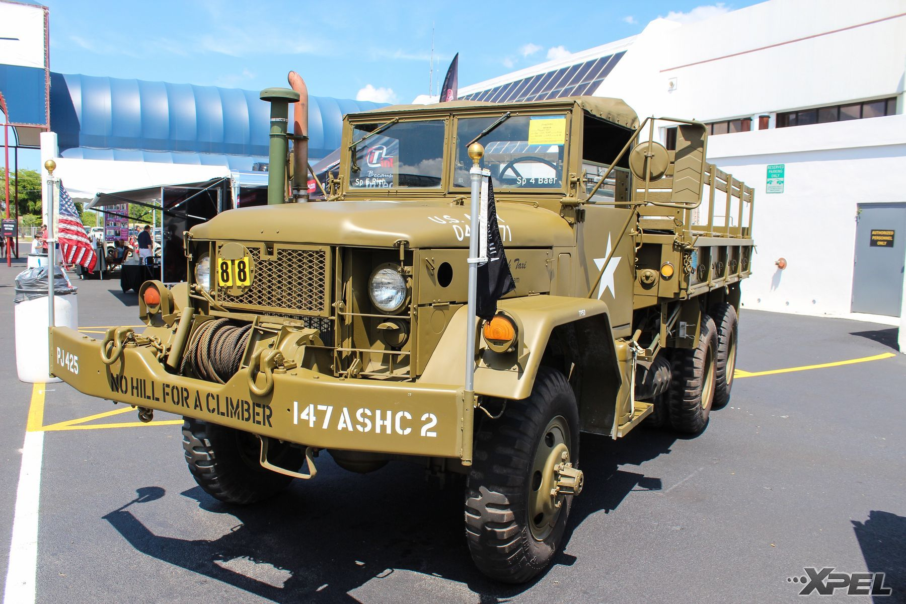 | Old Military Vehicle on display!