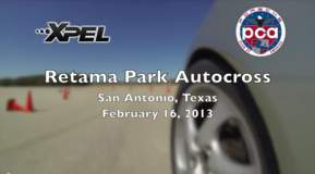 PCA Autocross at Retama Park, Texas