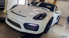 2016 Porsche Boxster Spyder with XPEL ULTIMATE
