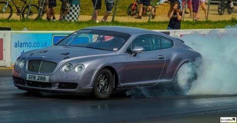 Outrageous Bentley drag car
