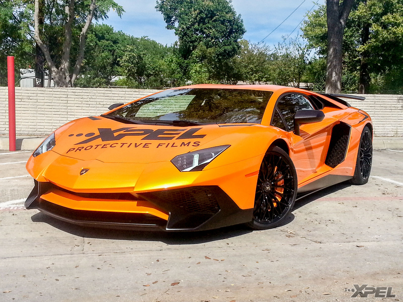 2016 Lamborghini Aventador | The beautiful Lamborghini Aventador SV wrapped in XPEL
