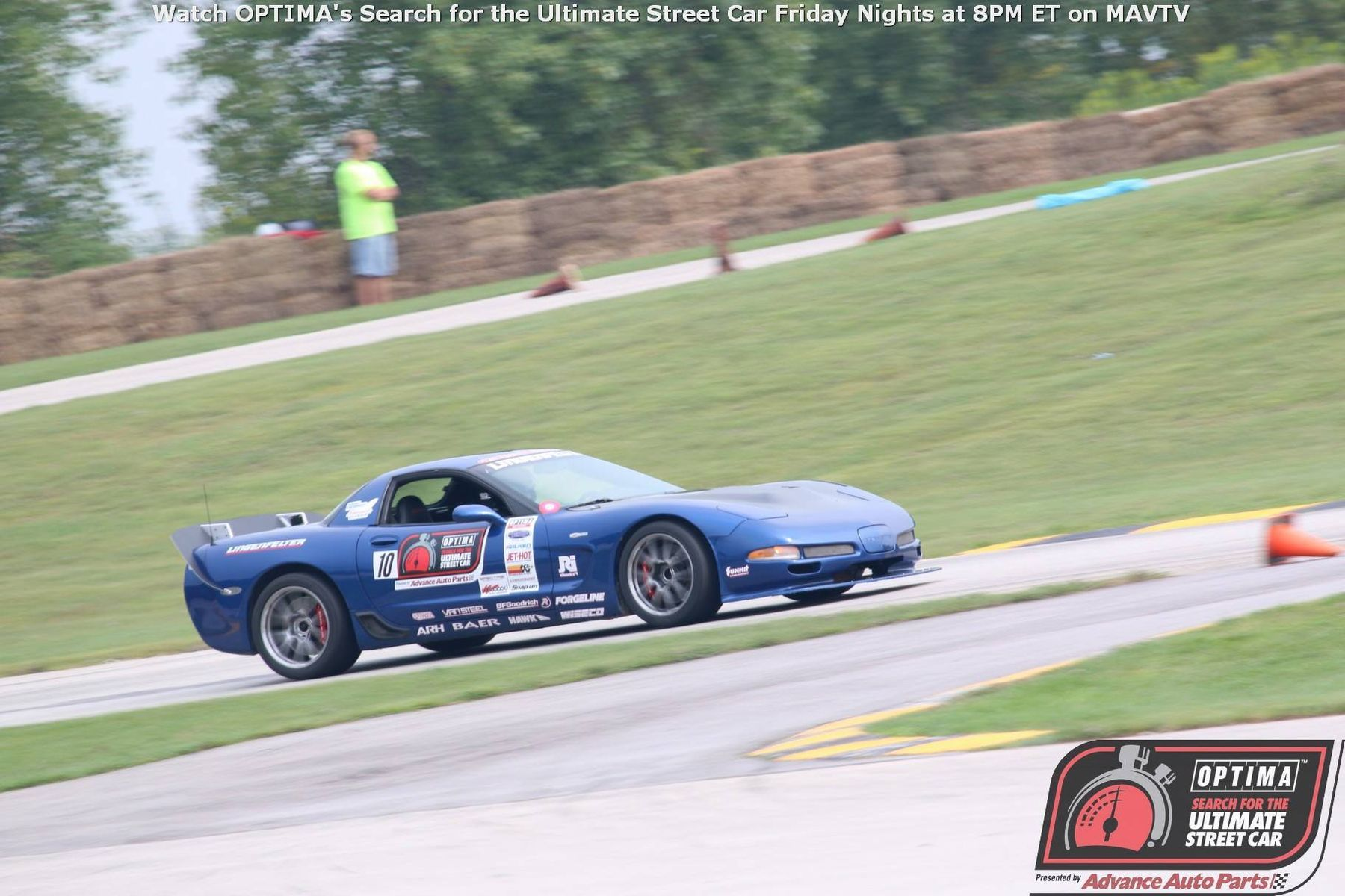 2003 Chevrolet Corvette Z06 | Corvette Z06 on Forgeline GS1R Wheels