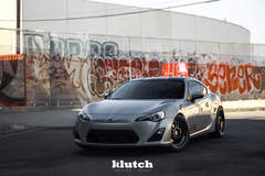 "FR-S on 18"" Klutch ML1 Wheels - Front Profile"
