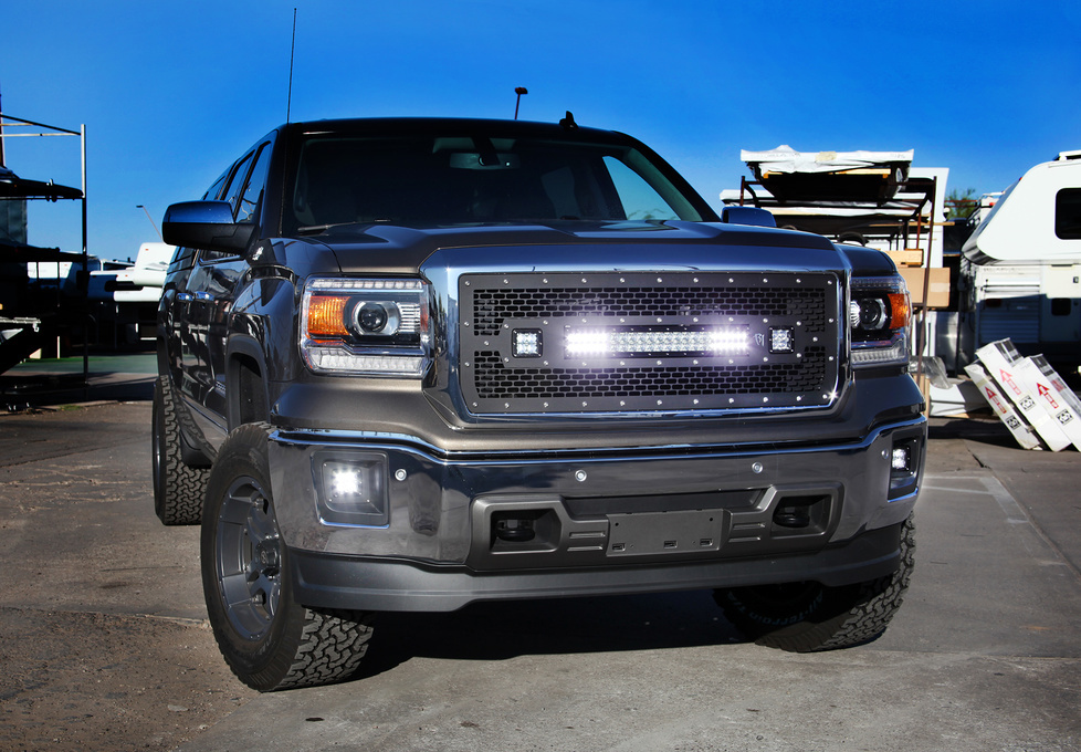 GMC  | Rigid Industries LED Grillle – 2014 GMC 1500