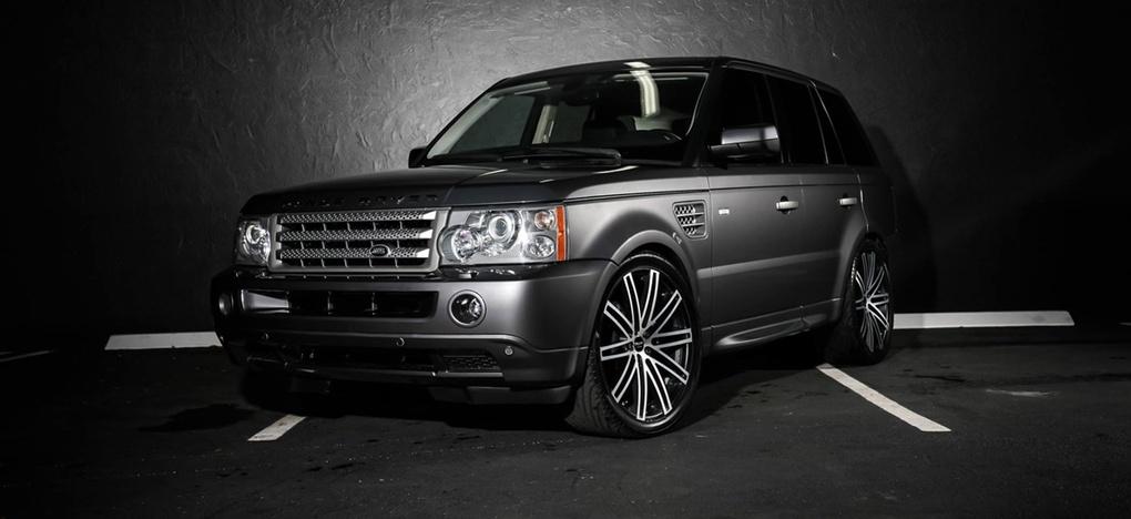 2008 Land Rover Range Rover Sport | Land Rover Range Rover Sport on Ruff Racing R955's
