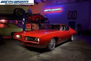 1968 Pontiac GTO | MetalWorks 1968 Pro-Touring GTO build