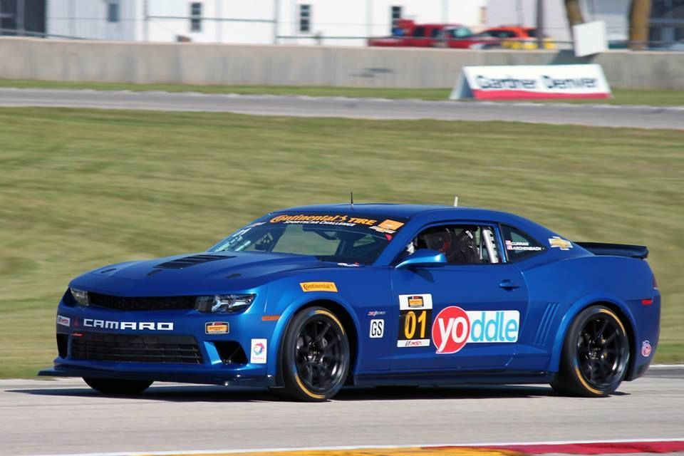 2014 Chevrolet Camaro | CKS Autosport Camaro Z/28.R on Forgeline Wheels Wins GS at Road America