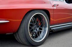 Nick Weber's 1967 Corvette Convertible on Forgeline DE3P Wheels