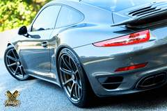 George Smith's Porsche 911 Turbo S on Forgeline GE1 Wheels