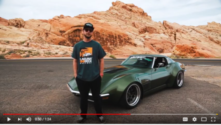 "1970 Chevrolet Corvette Stingray | Video: Garrett Randall's ""Rambo"" 1970 Corvette Stingray on Forgeline GA3R Wheels"