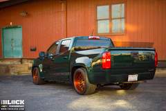 Mallett Cars 750HP Supercharged Chevy Colorado on Forgeline MS3C Wheels