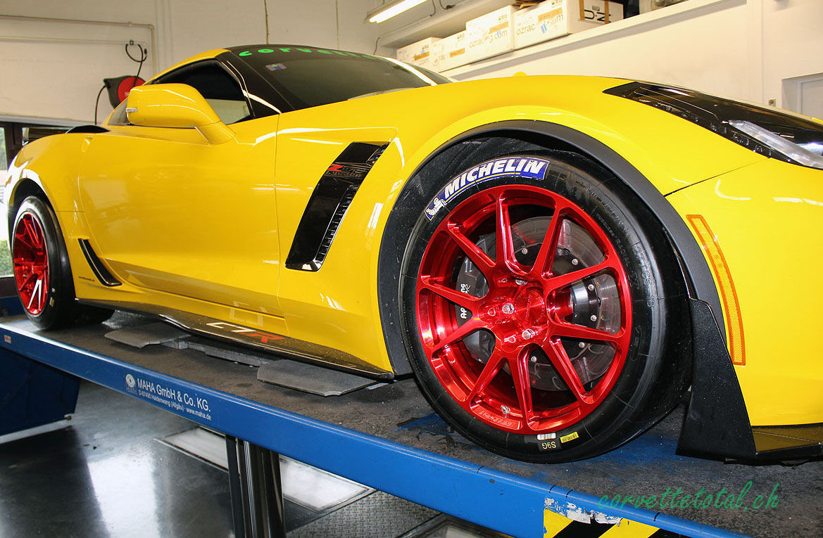 2016 Chevrolet Corvette Z06 | Swiss C7.R C7 Corvette Z06 on Forgeline One Piece Forged Monoblock GS1R Wheels