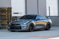 TopSpeed Motorsports 1500HP Nissan GT-R on Forgeline One Piece Forged Monoblock GA1R Wheels