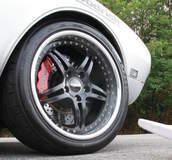 Terry Neuville's '68 Chevy Camaro on Forgeline SP3P Wheels