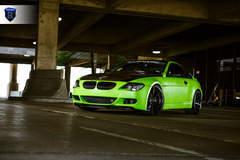 Green BMW 6 Series - Left Side