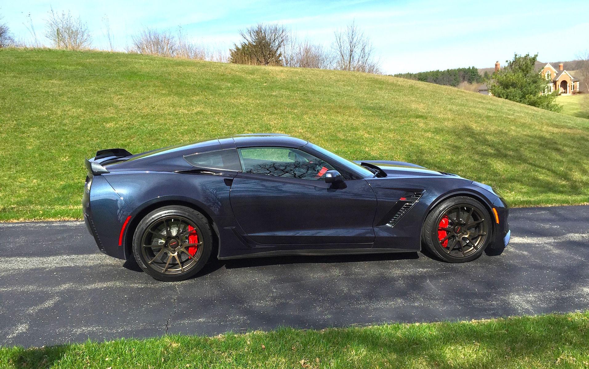 2015 Chevrolet Corvette Z06 | Schwartz Performance C7 Z06 Corvette on Forgeline GA1R Open Lug Cap Edition Wheels