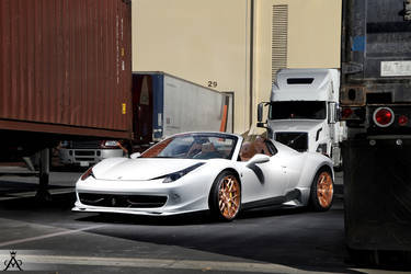 Ferrari 458 Custom Widebody Sport 14 Concave