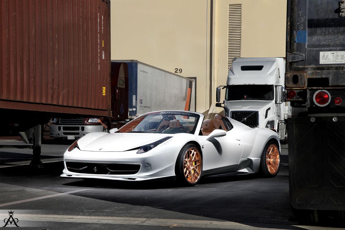 Ferrari 458 Italia | Ferrari 458 Custom Widebody Sport 14 Concave