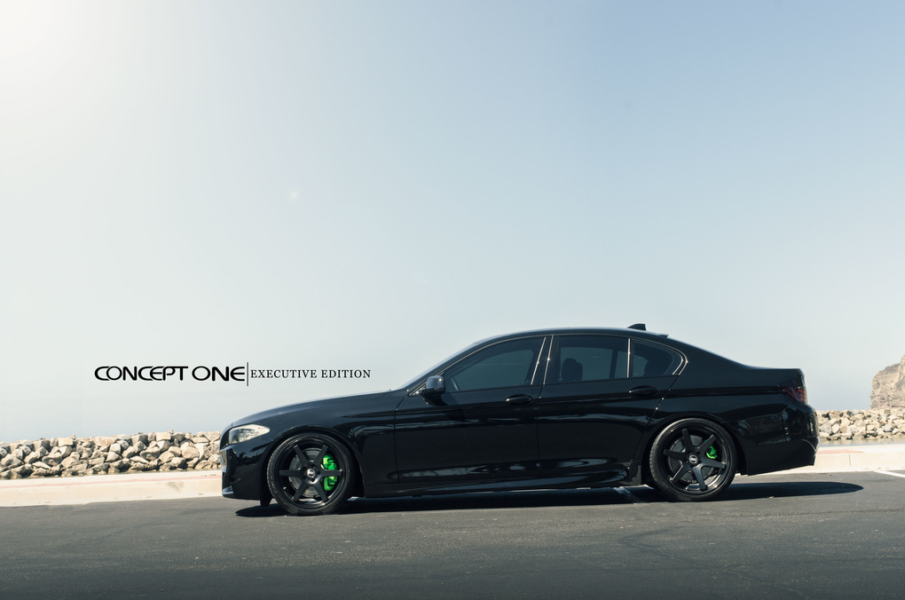 2012 BMW 5 Series | '12 BMW 550i on Concept One CS6.0's