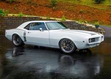 "Doug Hanks' ""Frostbite"" 1967 Pontiac Firebird on Forgeline ZX3R Wheels"