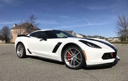 Anthony's White 2016 C7 Corvette Z06/Z07 on Forgeline One Piece Forged Monoblock AR1 Wheels
